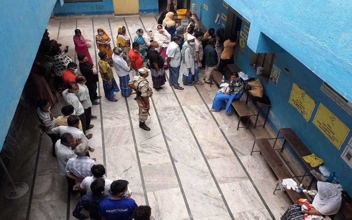 Bengal Polls: দুপুর ১২টা পর্যন্ত ৩৮ শতাংশ ভোট পড়ল